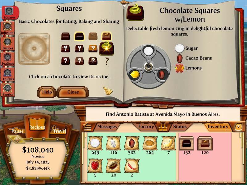 Sweet Fix for Gamers: Chocolatier 2: Secret Ingredients